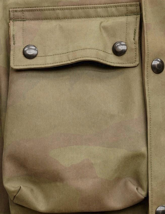 (ダブルアールエル) RRL カモフラ コットン ブレンド ジャケット 迷彩柄 メンズ Camo Cotton-Blend Jacket