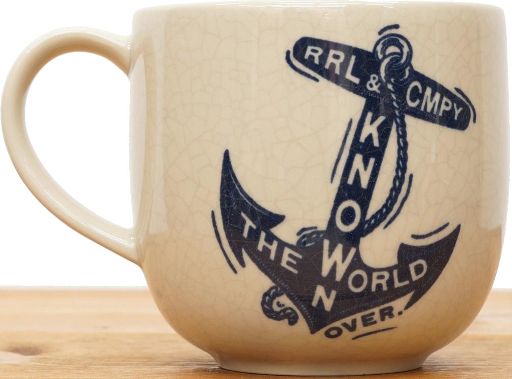 (ダブルアールエル) RRL ハンドペイント スーベニア マグ カップ Hand-Painted Souvenir Mug