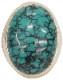 【 世界 限定1点 Limited Editon 】LHN Jewelry(エルエイチエヌ ジュエリー) ハンドメイド リング たたき加工 シルバー x ターコイズ Turquoise Ring