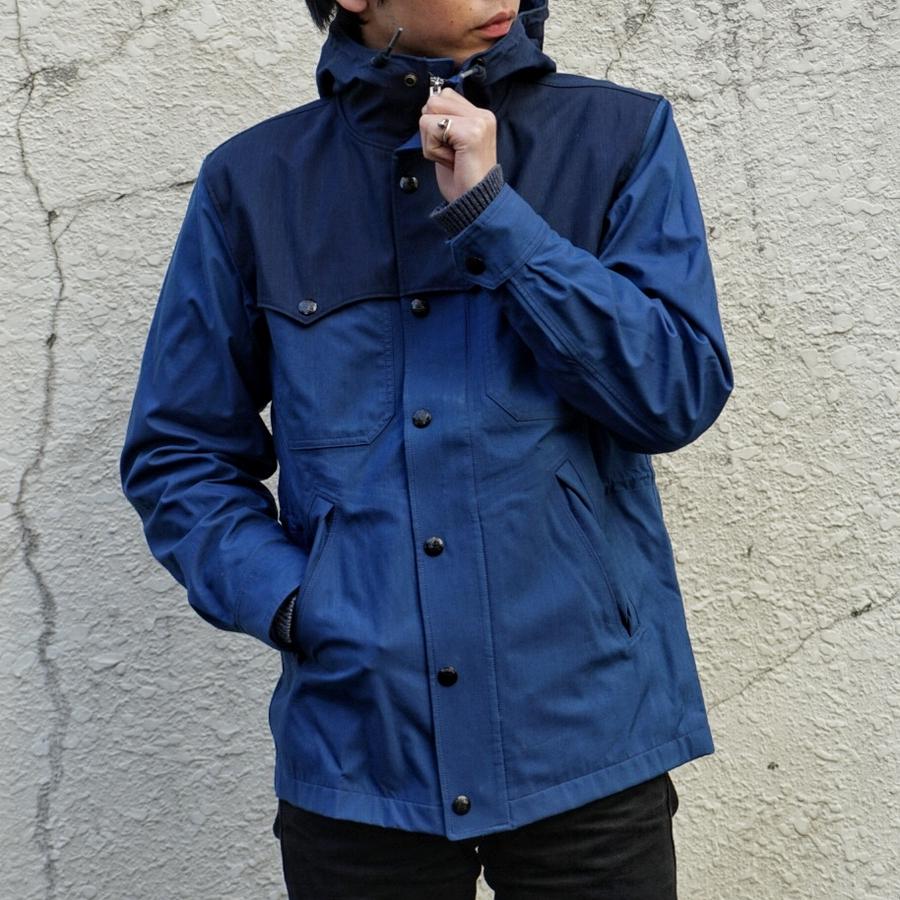 (ダブルアールエル) RRL インディゴ ウォータープルーフ ジャケット メンズ Indigo Waterproof Jacket