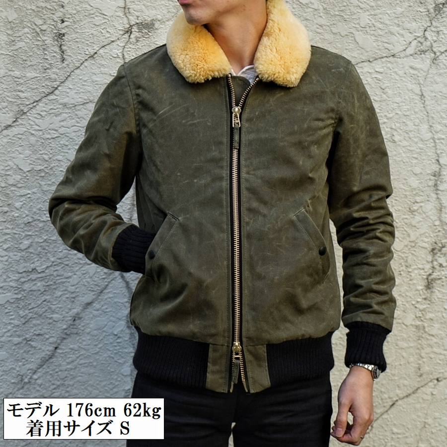Dehen 1920(デーヘン) フライヤーズ クラブ ジャケット フライト メンズ Loden / Gold アメリカ製 Flyer's Club Jacket