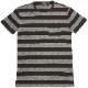(ダブルアールエル) RRL 本藍染め ボーダー インディゴ Tシャツ 胸ポケット メンズ Indigo Striped Tee