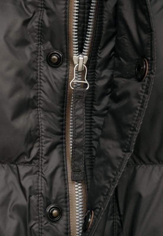 (ダブルアールエル) RRL Ambler キルテッド フーデッド ジャケット ナイロン ヴィンテージブラック メンズ Quilted Hooded Jacket