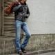 (ダブルアールエル) RRL 米国製 ローストレート Bisbee ジーンズ メンズ Low Straight Selvedge Jean