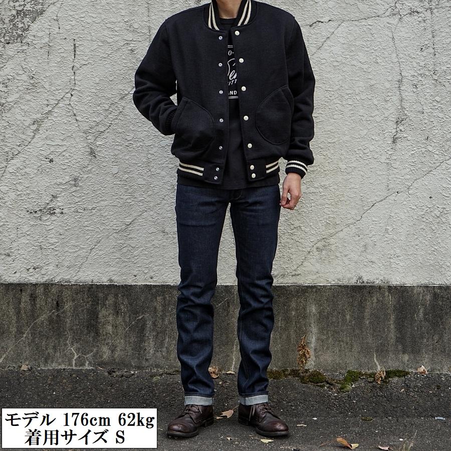 Dehen 1920(デーヘン) 創業100周年限定モデル ニット クラブ ジャケット スタジャン ウール地使用 メンズ ブラック アメリカ製 Limited Edition