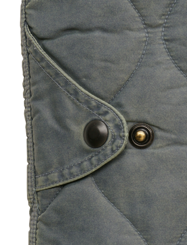 (ダブルアールエル) RRL Haxton リバーシブル ナイロン キルテッド ベスト Reversible Vest