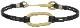 LHN Jewelry(エルエイチエヌ ジュエリー) Made In USA ハンドメイド Hook and Oval Bracelet Brass レザー x 真鍮 本革 ブレスレット メンズ ユニセックス