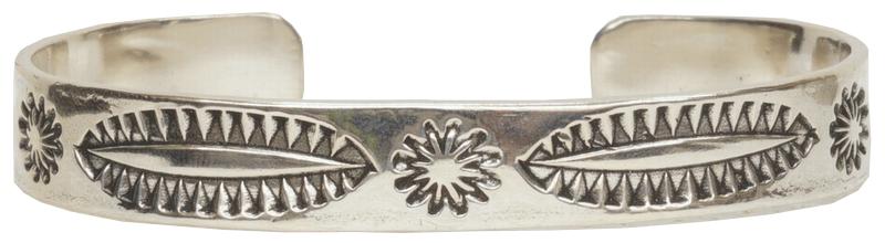 LHN Jewelry(エルエイチエヌ ジュエリー) ハンドメイド アメリカ製 ナバホ バングル ブレスレット � スターリングシルバー ユニセックス Navajo Cuff Silver