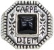 LHN Jewelry(エルエイチエヌ ジュエリー) Made In USA ハンドメイド シルバー x オニキス カルペディエム リング シルバー Carpe Diem Ring Silver Onyx