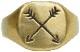 LHN Jewelry(エルエイチエヌ ジュエリー) ハンドメイド アロー リング 真鍮 Arrow Ring Brass
