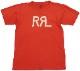(ダブルアールエル) RRL コットン ジャージー グラフィック ロゴ Tシャツ レッド メンズ Cotton Jersey Tshirs Red