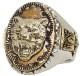 LHN Jewelry(エルエイチエヌ ジュエリー) ハンドメイド ストレングス & ウィズダム スーベニア リング シルバー タイガー Strength & Wisdom Souvenir Ring