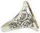LHN Jewelry(エルエイチエヌ ジュエリー) 米国製 ハンドメイド Ornate アンカー リング シルバー x ブラス メンズ ユニセックス anchor ring silver brass