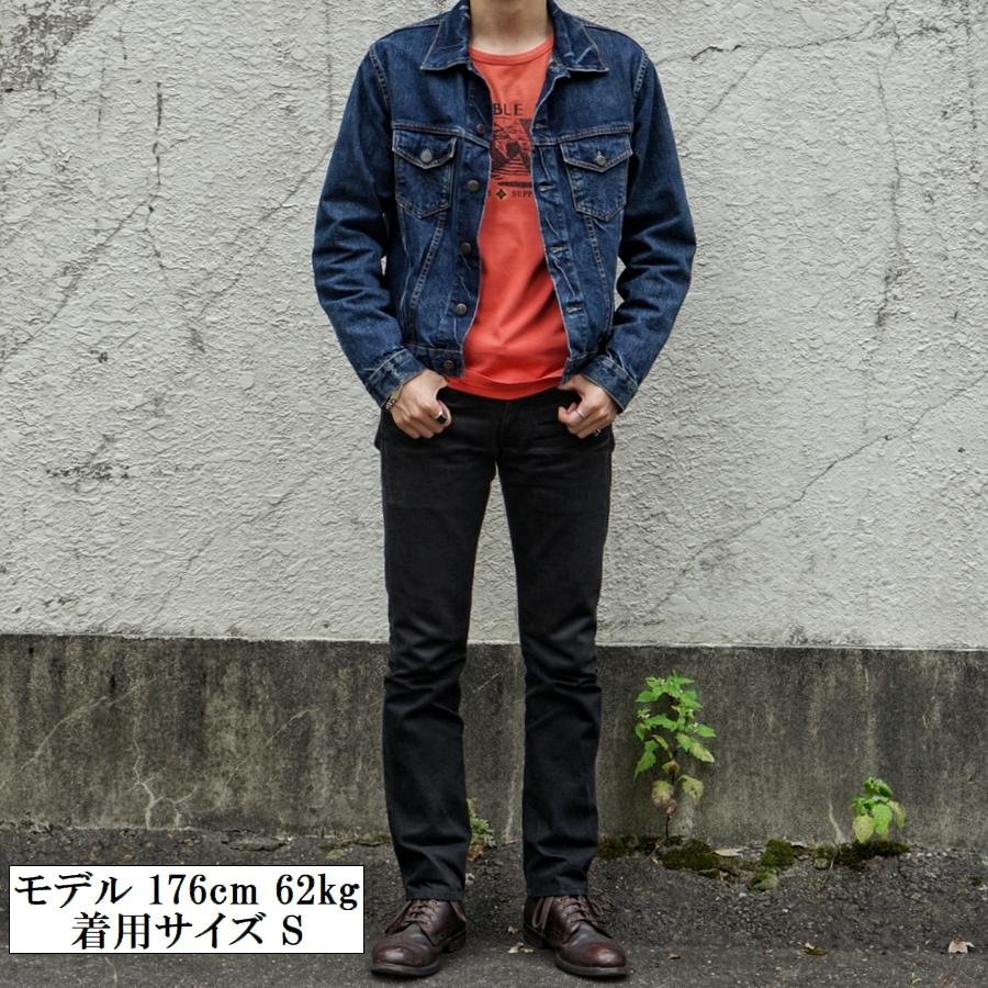 (ダブルアールエル) RRL コットン ジャージー グラフィック Tシャツ 風景 レッド メンズ Cotton Graphic Tshirt Red