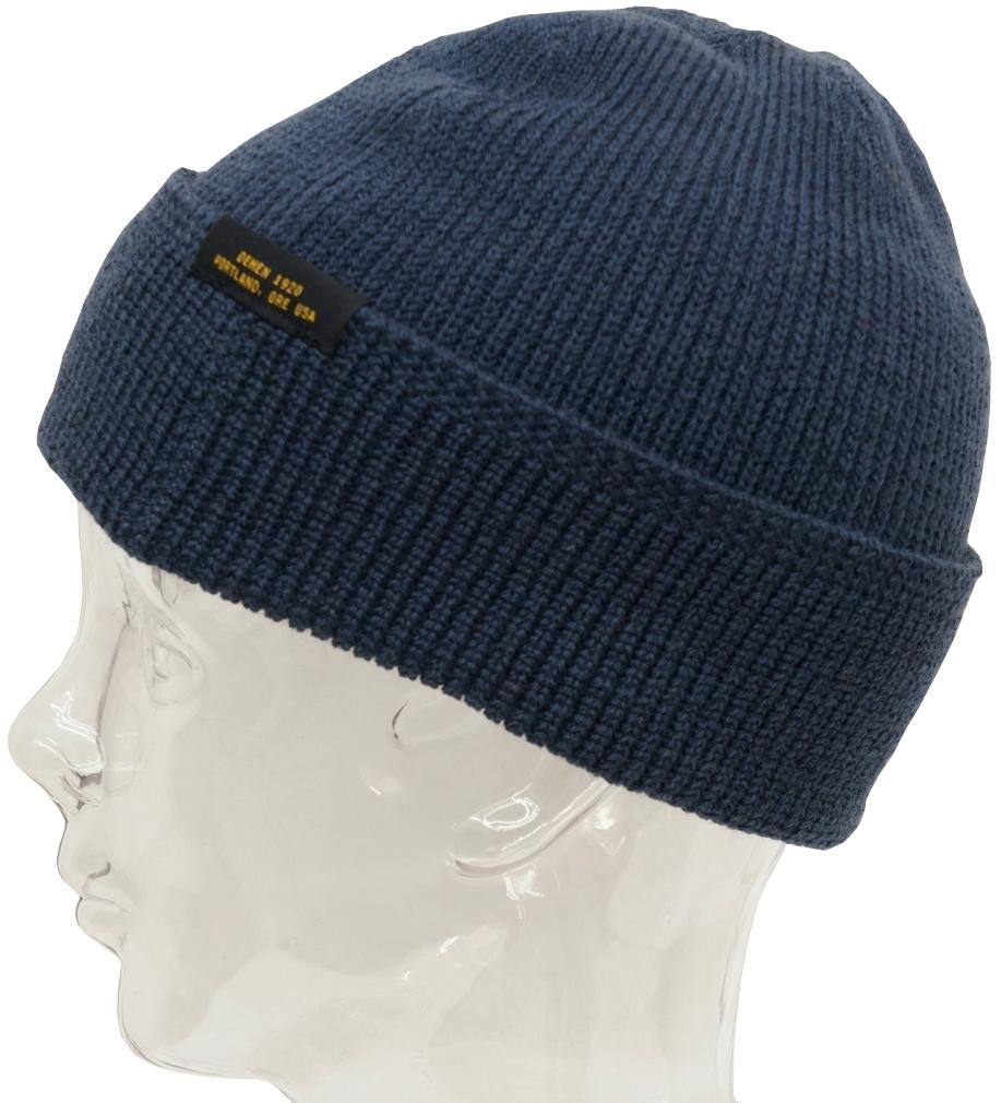 Dehen 1920(デーヘン) Made In USA ウール ニット ウォッチ キャップ ブルー メンズ アメリカ製 Wool Knit Watch Cap Centennial Blue