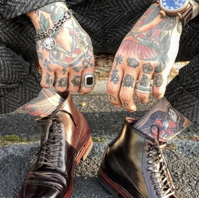 LHN Jewelry(エルエイチエヌ ジュエリー) Made In USA ハンドメイド 40 Knots リング シルバー x オニキス メンズ ユニセックス Silver Onyx ring
