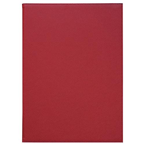 隠しピンメニューブック A4 赤  ×5冊
