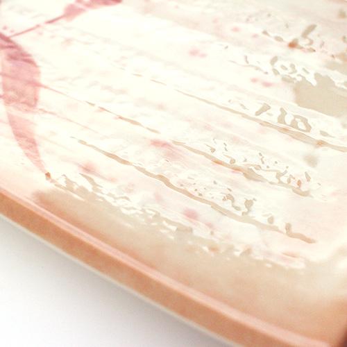 【割れにくいメラミン皿】焼物皿 秋草 ×5枚