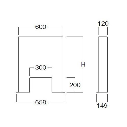 【飛沫対策】クリアパーテーションP6012高60透明 ×1台