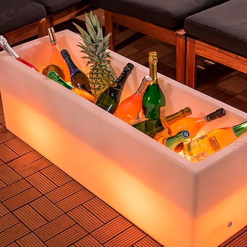 【光るディスプレイ】16色に光るパーティーボトルクーラー・どぶづけ(充電式) ×1コ