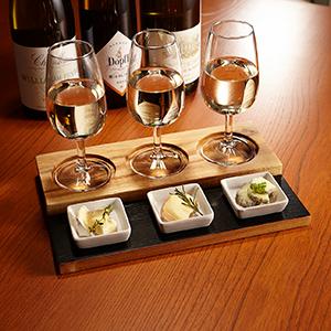 【飲み比べ/ビール・ワインに】ブラックボードテイスティングトレイN ×1台