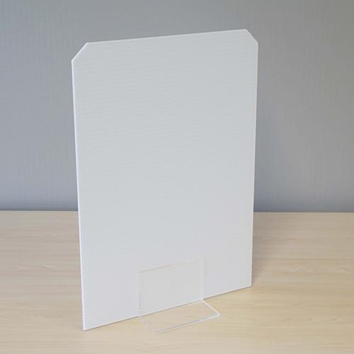 【飛沫対策/仕切り】モバイルウォール フラットパネル40型 ×1枚