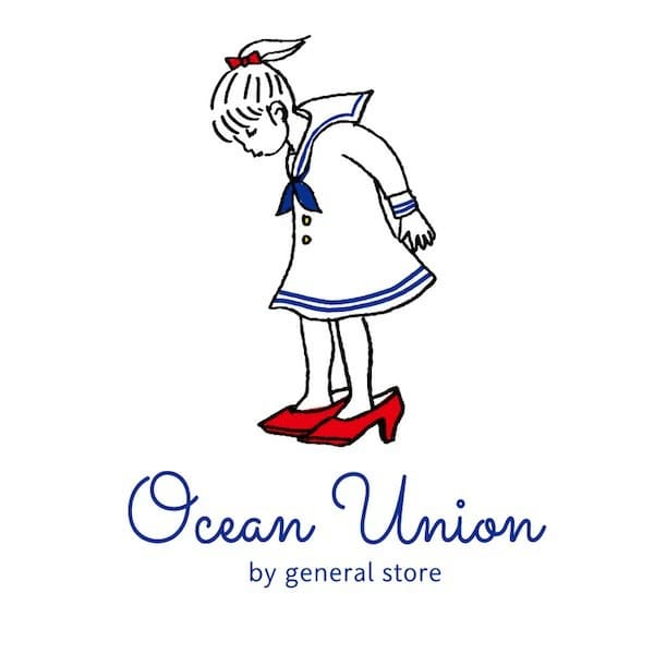 OCEAN UNION Marine Department デザイン プリント Tシャツ