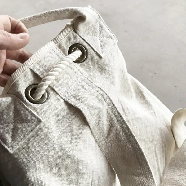 V.D.L.C / 酒袋 やわらか 帆布 ボンサック ワンショルダー 新色追加