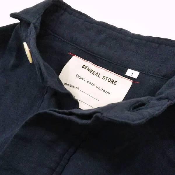 GENERAL STORE / 丸襟 PO ガーゼ ポケット シャツ ユニセックス