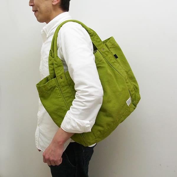 V.D.L.C / 酒袋 帆布 ショルダートートバッグ