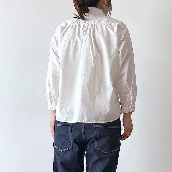 GENERALSTORE / Aライン8分袖シャツ