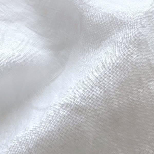 GENERALSTORE / Aライン 8分袖 シャツ(リネン)無地 ギンガム