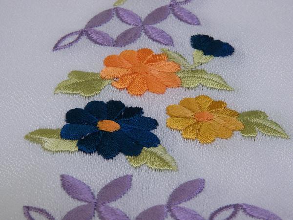 刺繍半衿(ポリエステル) No 3090560