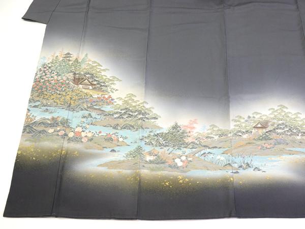 寿光織  訪問着 修学院離宮の柄 新古品 No3503091