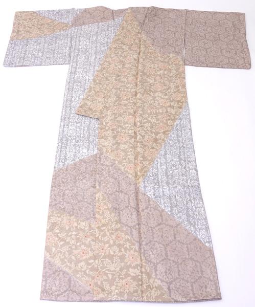 京友禅 紋意匠訪問着 中古品 No 3476555