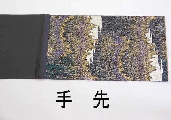 袋帯 木村雨山画 残月 新古品 お仕立て上がり No 3476562