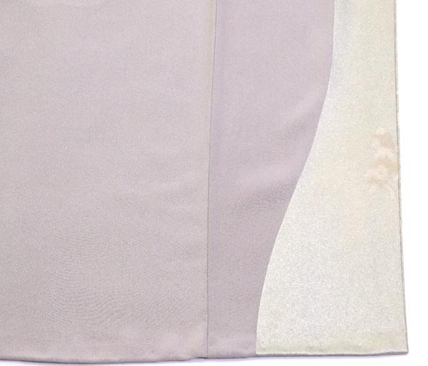 色留袖 松尾光琳作 四季花鳥図紋 新古品お仕立て上がり正絹  No 3538987