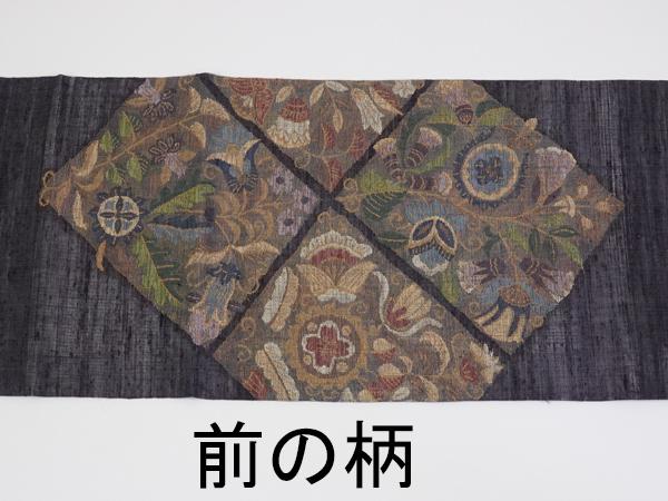 夏用 袋帯 すくい織り 新古品 お仕立て上がり No 3066664