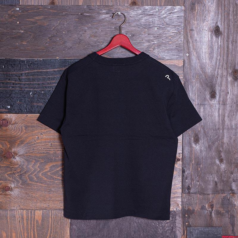 《VETERANO AC》 T-SHIRT (KAMOME-GOD-FACE) BLACK