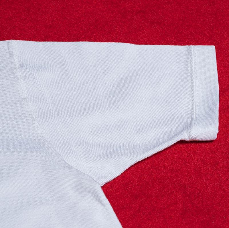 《GARY SS》 MOCKNECK TEE (KAMOME刺繍) WHITE