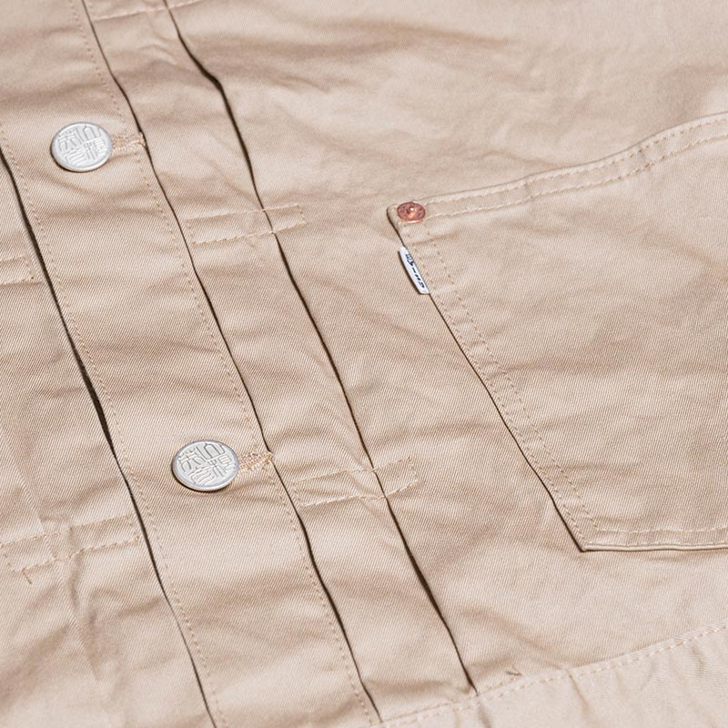 《COLLIN2》 HOODED JACKET (CHINO) BEIGE