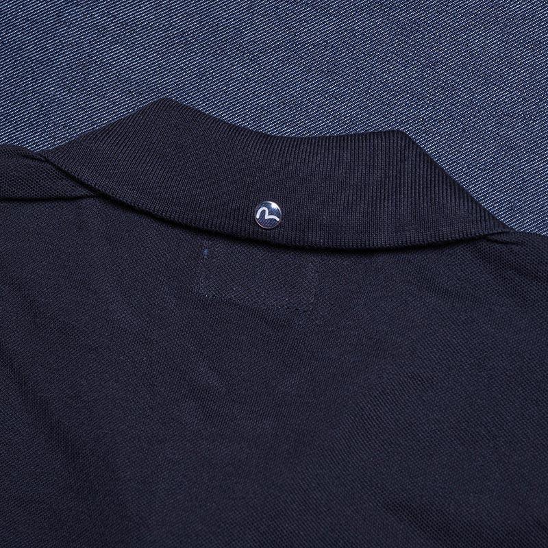 《BEIJING》 POLO SHORT SLEEVE (PIN KAMOME刺繍) BLACK