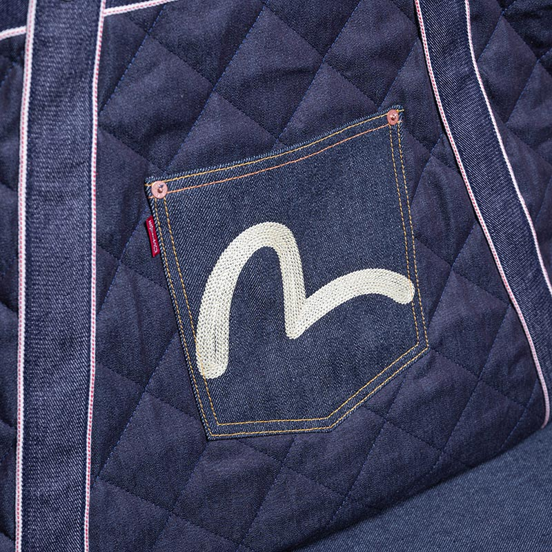 《NAVE LL》 TOTE (QUILTING DENIM)