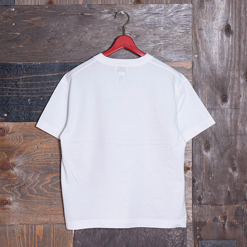 《VETERANO AC》 T-SHIRT (CREAM KAMOME) WHITE