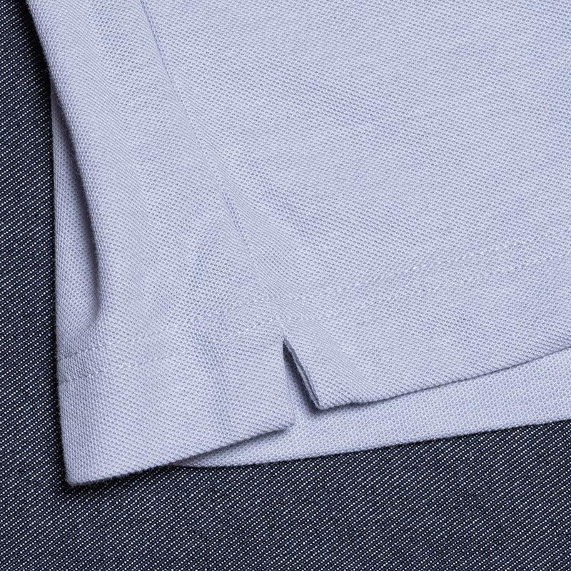 《BEIJING CP》 POLO SHORT SLEEVE (PIN KAMOME刺繍) GRAY