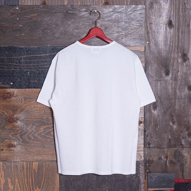 《ROSE2》 T-SHIRT (カモメ刺繍) WHITE