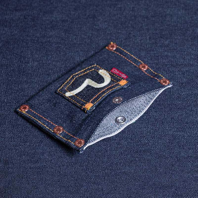 《CARTE》 CARD-CASE (SELVAGE DENIM)