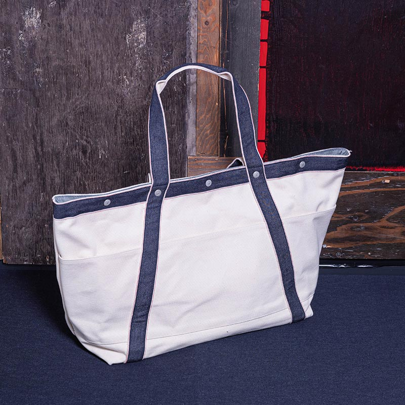 《NAVE LL》 CANVAS TOTE (三号帆布)