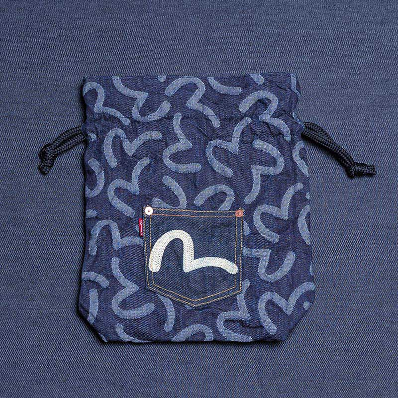 《RAPA》 DRAWSTRING BAG (KAMOME)
