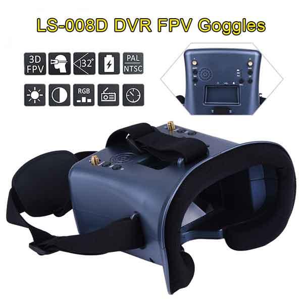 LANSHI  LS008D  FPVゴーグル ドローン空撮用